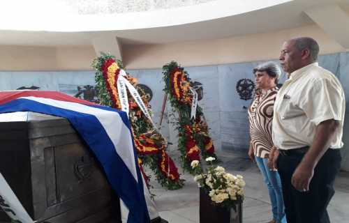 Santiago de Cuba Remembers the 151st Anniversary of the Beginning of the Independence War